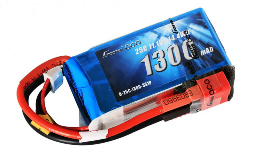 Gens Ace 1300mAh 3S 25C Lipo battery