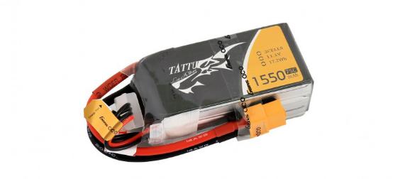 Tattu 1550 mAh 3S 75C Lipo battery