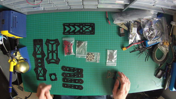 Build a Mini Racing Quadcopter 01