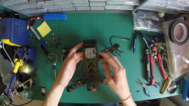 Build a Mini Racing Quadcopter 05