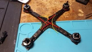 Stinger X210 racer frame 11